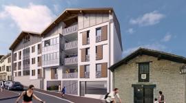 Construction d'un ensemble résidentiel et commercial à HENDAYE
