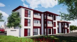 Construcción de la Residencia Bi Aldetan en ARBONNE BIDART